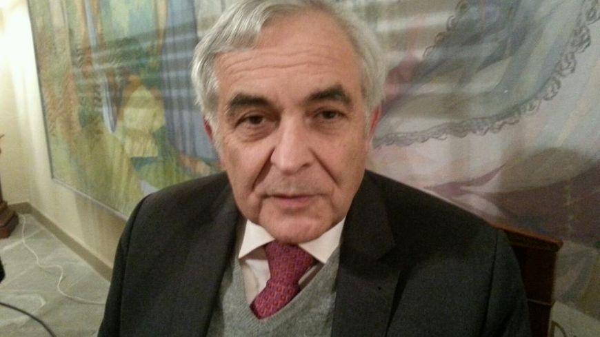 Jean Pierre Marcon, le président sortant du CG