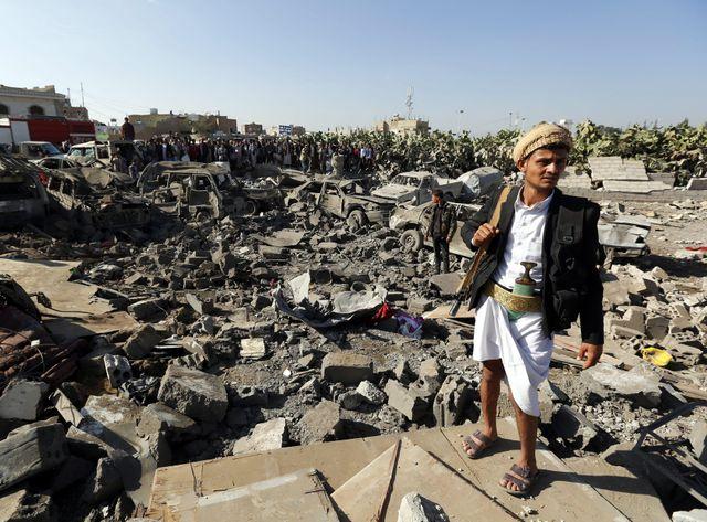 Le Yémen bombardé