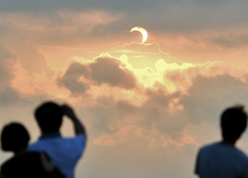 L'éclipse sera partiellement visible en France le 20 mars prochain - MaxPPP