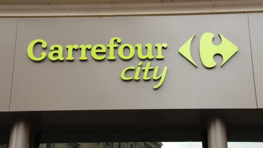 Un Carrefour City - illustration