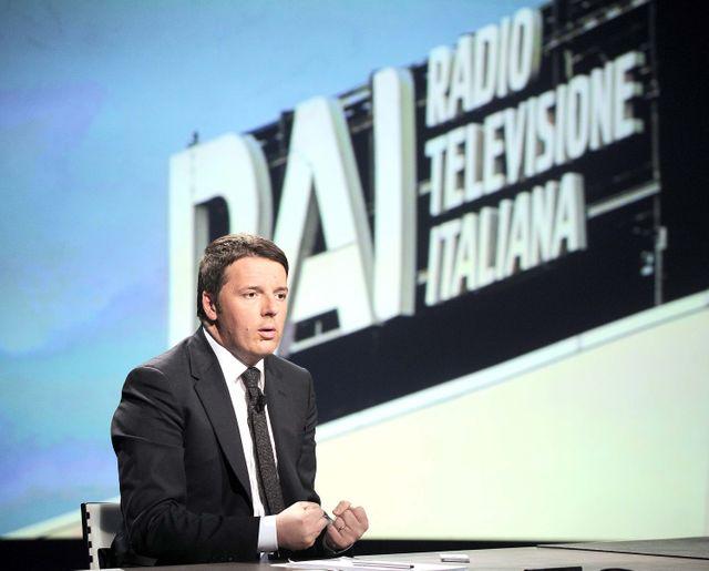 Matteo Renzi, sur RAI, 22-02-2015