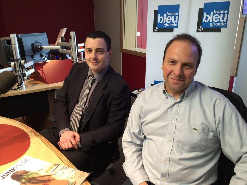 Laurent Tournebise et Laurent Pédebernard - Radio France