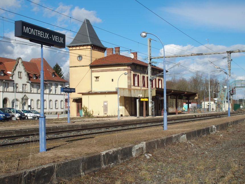 Montreux-Vieux, gare - Radio France