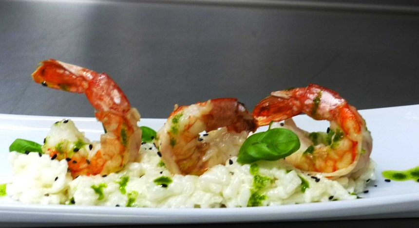 Risotto de Gambas. - Radio France