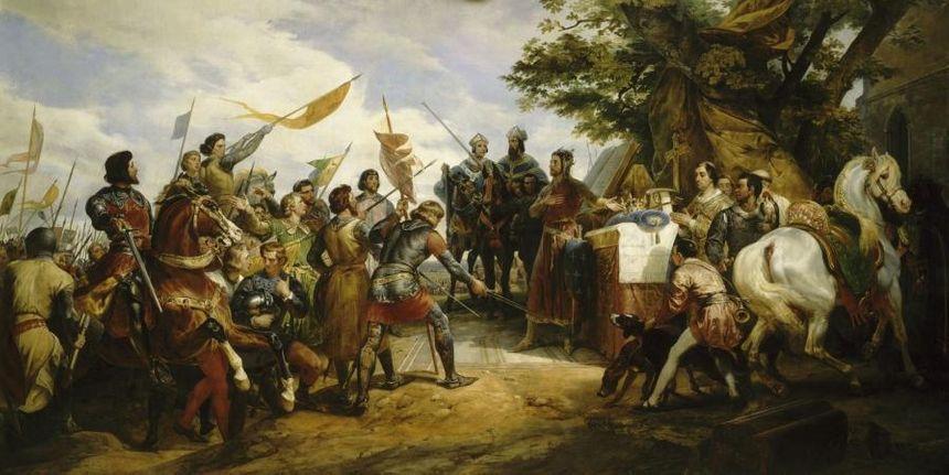 Bataille de Bouvines - Creative commons