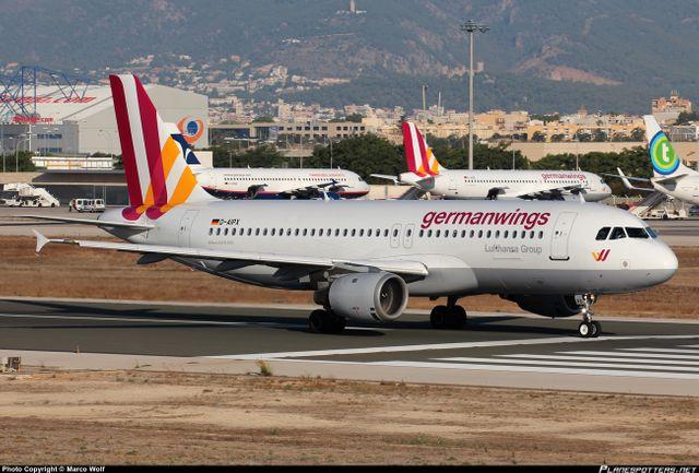 A320 de GermanWings