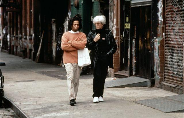 David Bowie et Jeffrey Wright dans 'Basquiat'