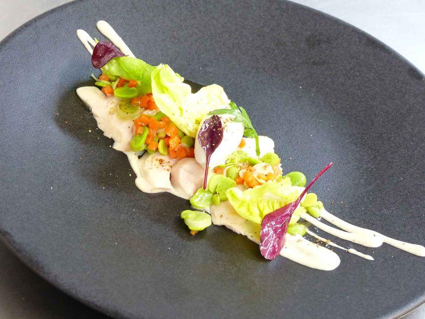 Salade de poulet fumé. - Radio France