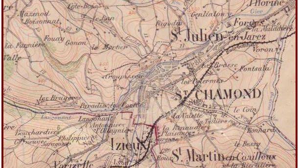 """C'est en 1965 que le """"grand"""" Saint-Chamond est né de la fusion de quatre communes"""