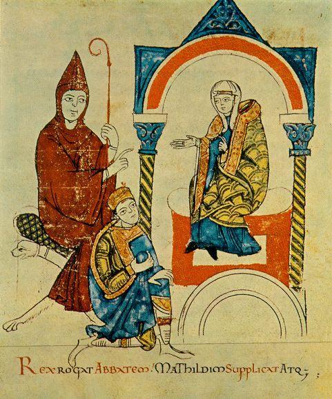 Henri IV à Canossa - Creative commons
