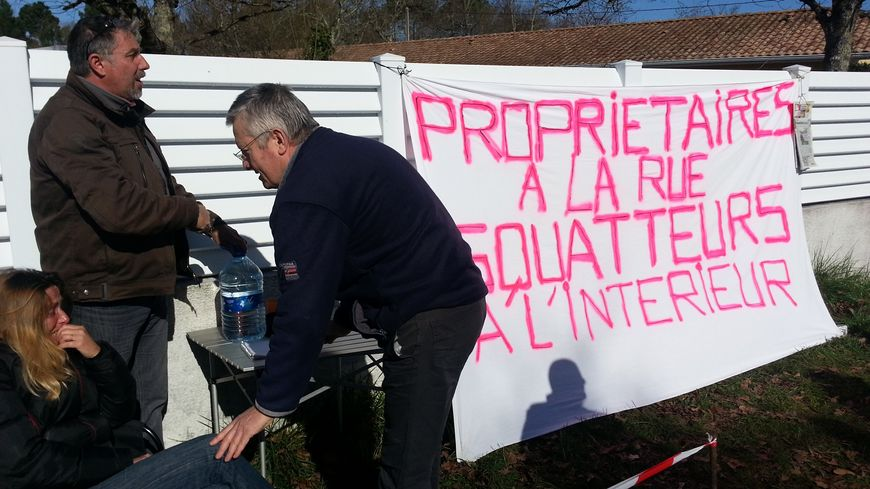 Les époux Boulnois ont reçu le soutien de nombreux voisins