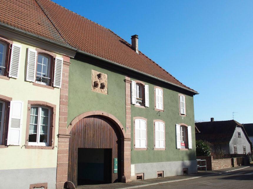 Ohnenheim, la maison du bailli