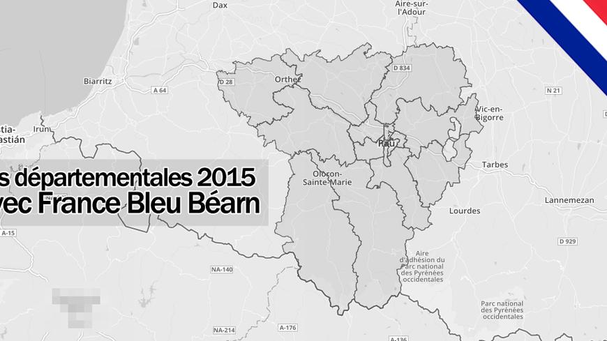 Les départementales des 22 et 29 mars 2015 en Béarn.