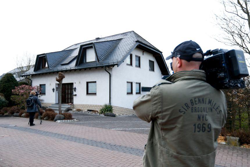 Selon des médias allemands, cette maison est le domicile d'Andreas Lubitz - Reuters
