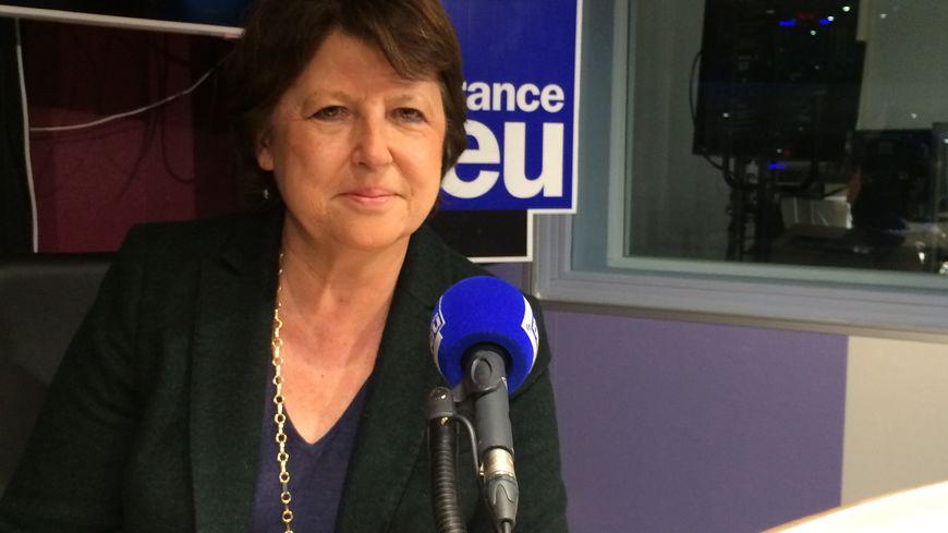 Martine Aubry annonce sur France Bleu Nord la candidature de Lille pour l'élection de Miss France 2016