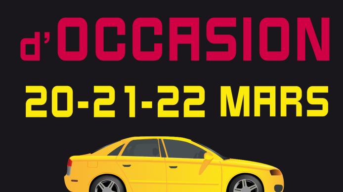 Salon du véhicule d'occasion 2015 Caen