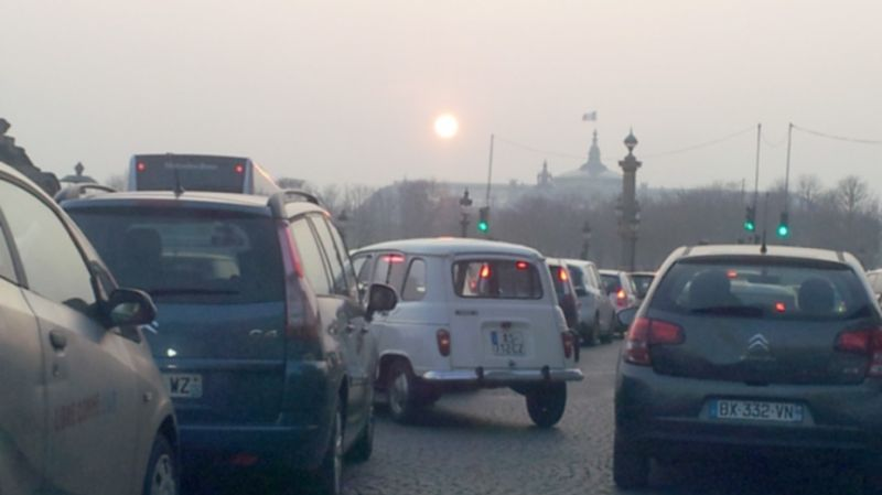 Pollution Paris 1/3 (18 mars 15)