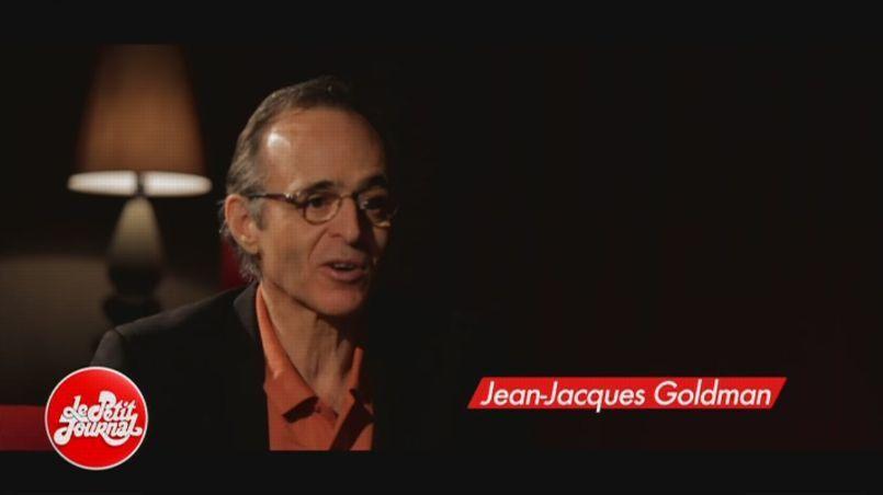 Jean-Jacques Goldman, mercredi soir dans le Petit Journal de Canal +