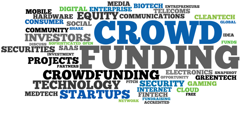 Crowdfunding (illustration)