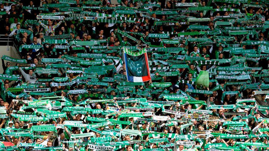 Les supporters des Verts
