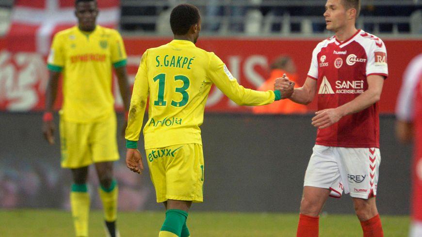 Parfois en difficulté depuis le début de saison, Grégory Bourillon a été le meilleur rémois face à Nantes (3-1)