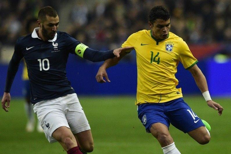 France - Brésil le 26 mars 2015 - Reuters