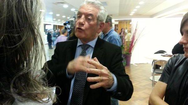 Philippe Madrelle, le président sortant, annonce la victoire de la gauche dimanche prochain