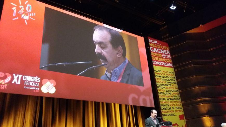 Le secrétaire général de la CGT, Philippe Martinez