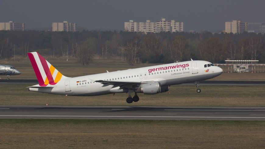 Un avion de la compagnie Germanwings (photo d'illustration)