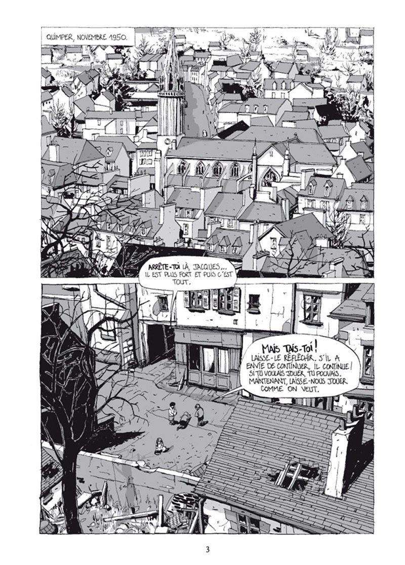 """extrait de la bande-dessinée """"100 maisons, la cité des abeilles"""" (éditions Delcourt)"""