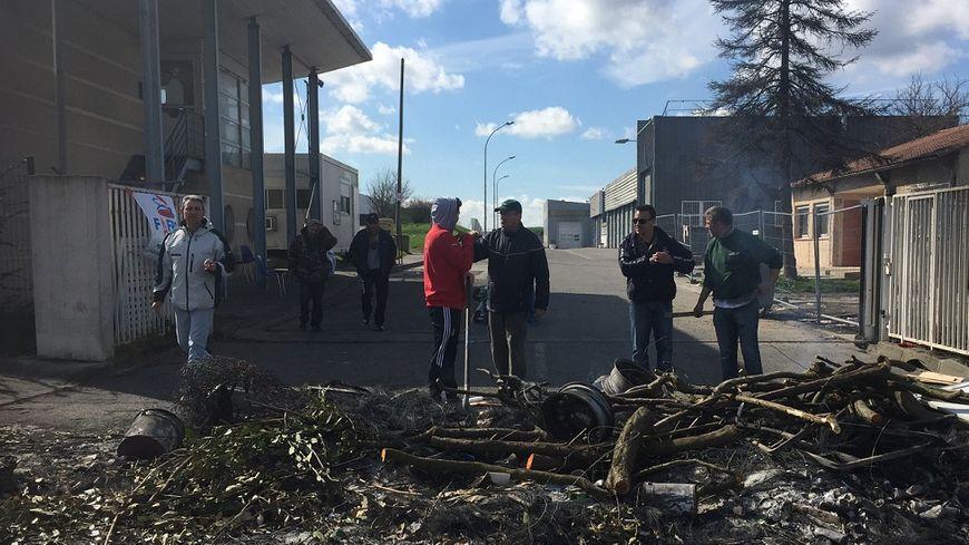 FBToulouse grève des éboueurs de Colomiers