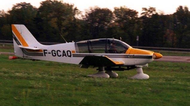 L'avion qui s'est écrasé était de type DR400 Robin.