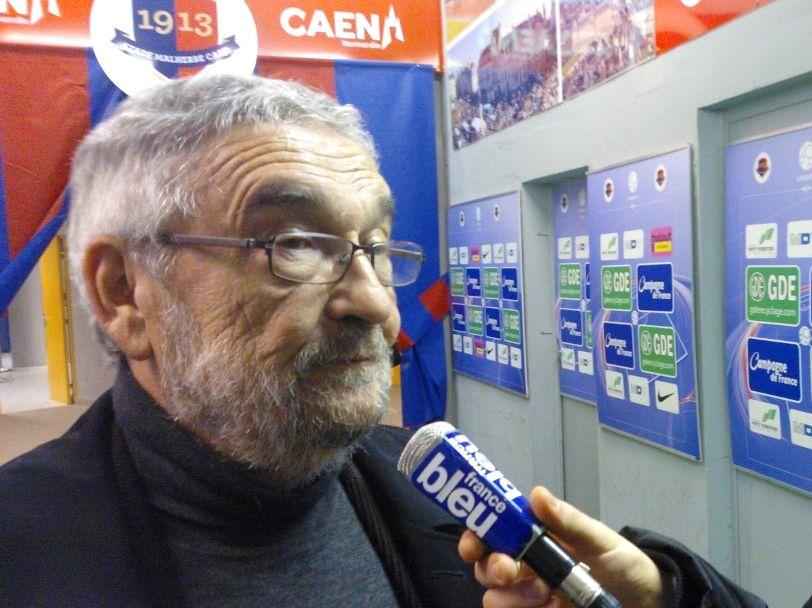 foot caen jean-françois fortin micro france bleu  - Radio France