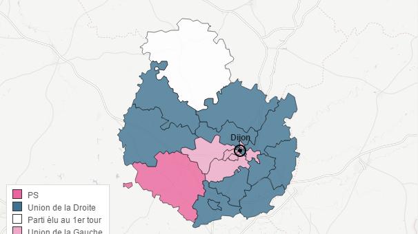 Résultats Bourgogne Cote d'Or sencodn tour départementales