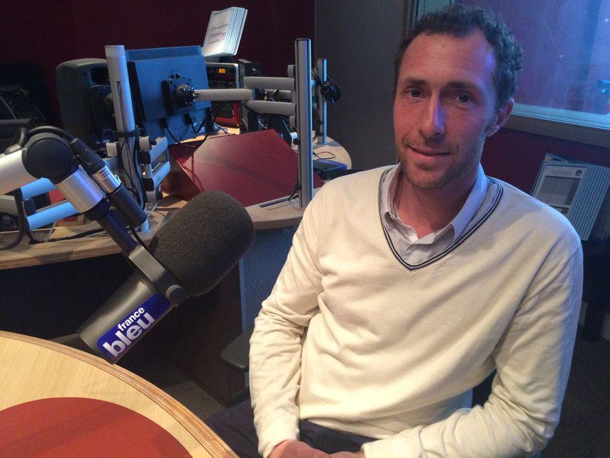 Thomas Allewaert, fondateur de Redsap - Radio France