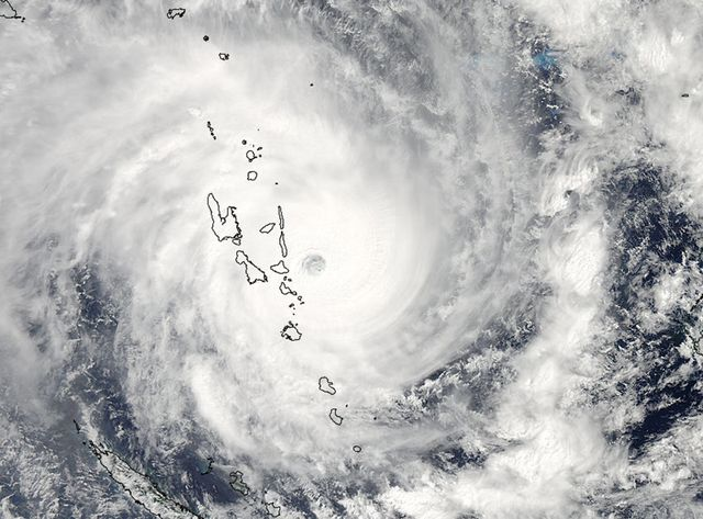 Le cyclone Pam ravage l'archipel de Vanuatu