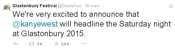 tweet Glastonbury