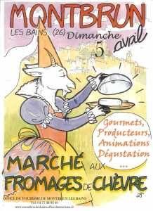 marché aux fromages montbrun les bains - Radio France