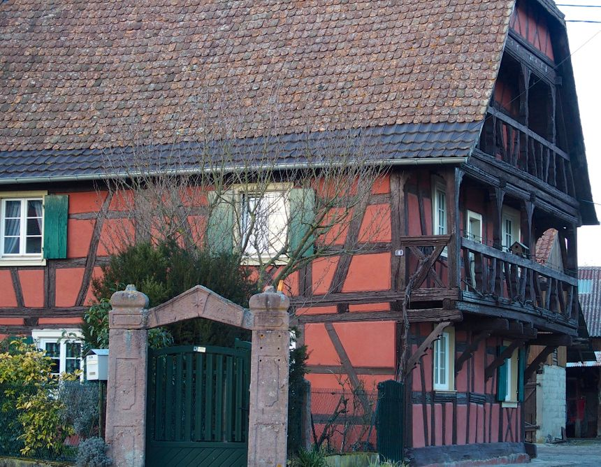 Mackenheim, les beaux colombages - Radio France