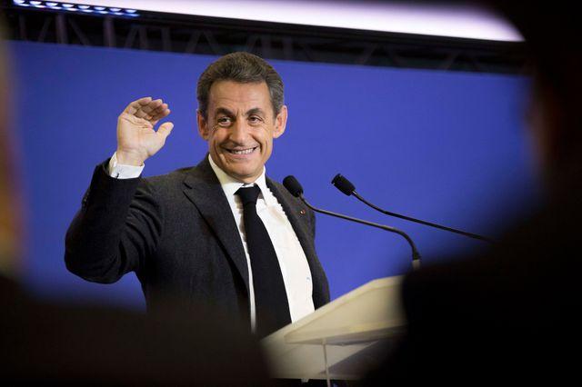Le président de l'UMP, Nicolas Sarkozy.