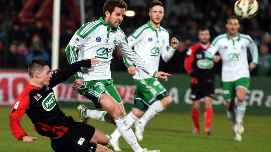 Boulogne Saint-Etienne en quart de finale de la Coupe de France de football