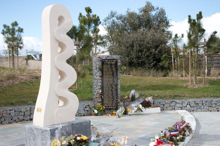 Mémorial en hommage aux victimes de Xynthia - Radio France-Mélodie Pépin