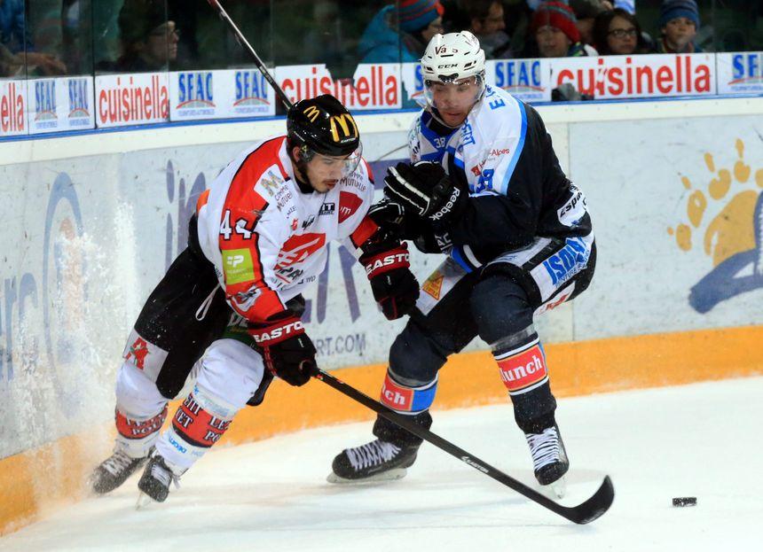 Amiens Gap en quart de finale de hockey sur glace - Virgile Gazzaniga - MaxPPP