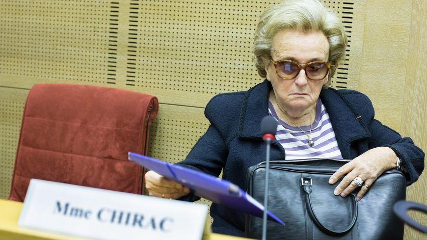 Bernadette Chirac en mai 2014.