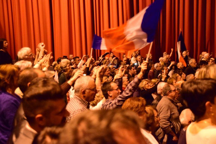 Nicolas Sarkozy en meeting à Perpignan - Radio France