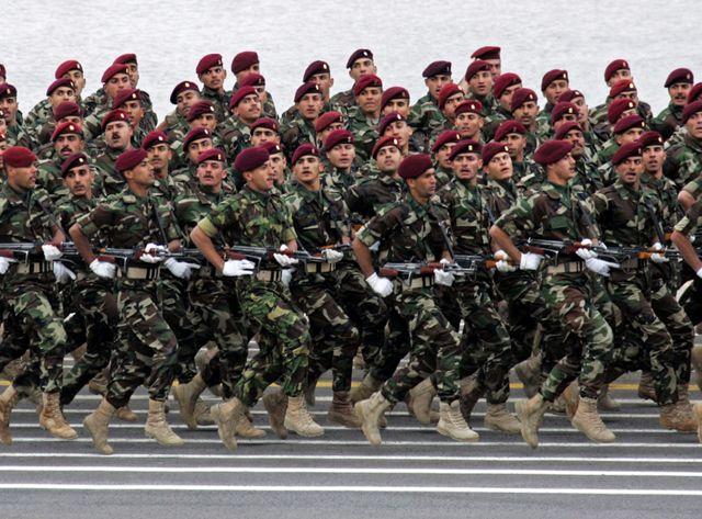 Défilé de l'armée irakienne en 2012
