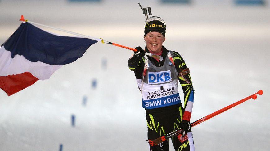 La Française Marion Dorin-Habert s'est offert deux titres de championne du monde de biathlon