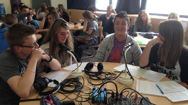 Une webradio au lycée Aragon d'Héricourt