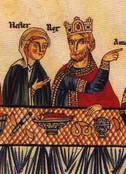 La plus vieille représentation de bretzel connue (1190). - Creative commons