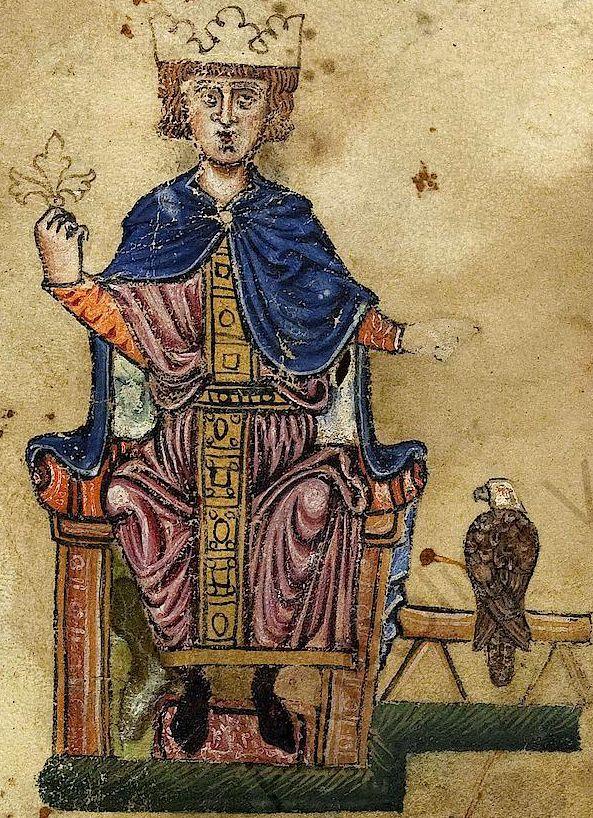 Frédéric II de Staufen - Creative commons